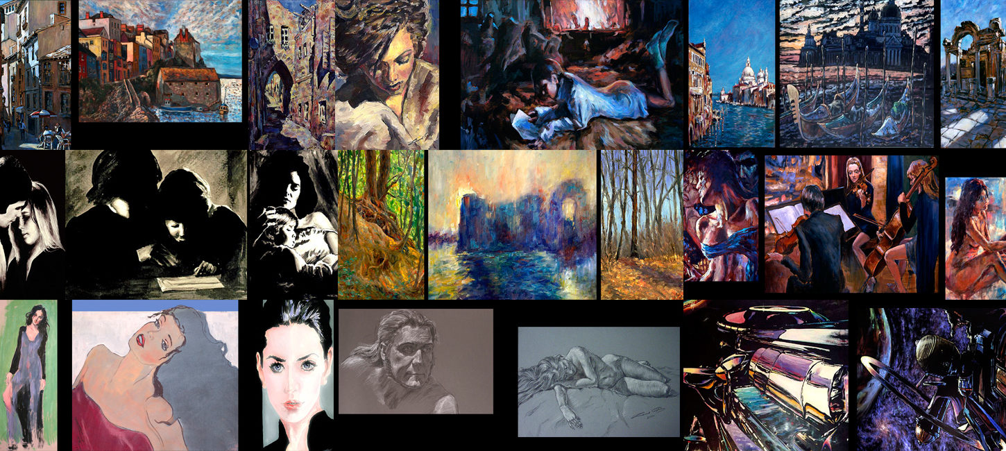 Please click the image banner to access art galleries.