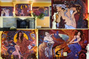 LT Studio specializes in commercial and residential mural painting.  * Unique, custom made designs, individual approach to match your interior ;   * Various styles available, choose from Classic, Nouveau, Deco, Impressionism, Modern and many others;   * Free estimates, competitive rates, three steps project process;